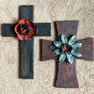 Beautiful, Rustic Wooden Crosses(2)